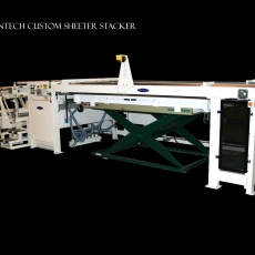 Contech Custom Sheeter Stacker