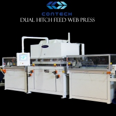 Dual Hitch Feed Web Press